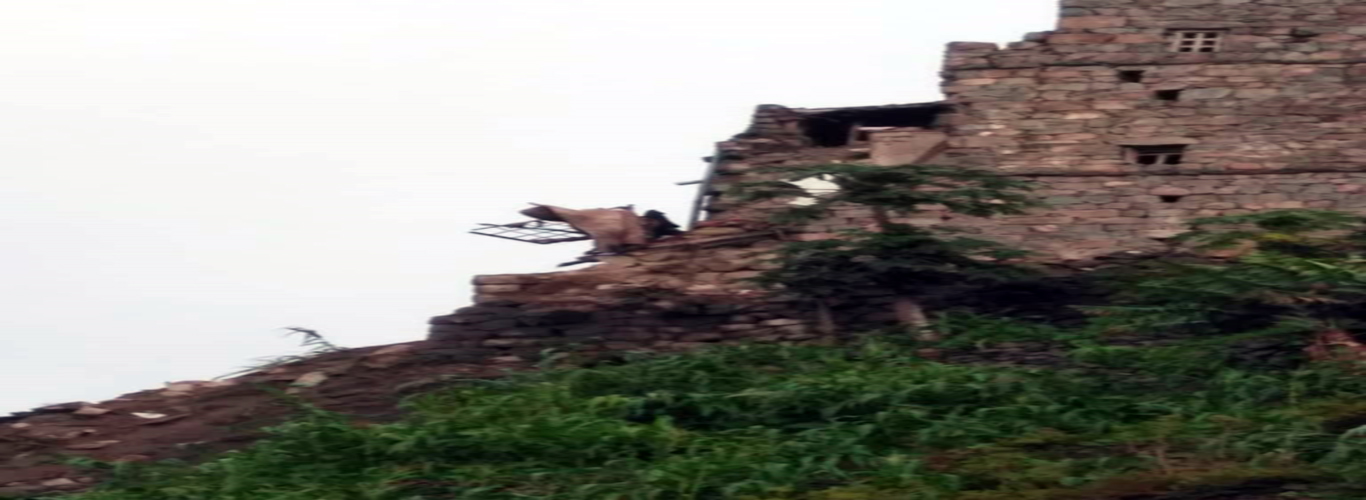 Urgent distress call as a result of the disaster of torrential torrents and rockfall